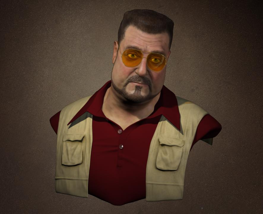 baa2041884 Walter Big Lebowski Sunglasses