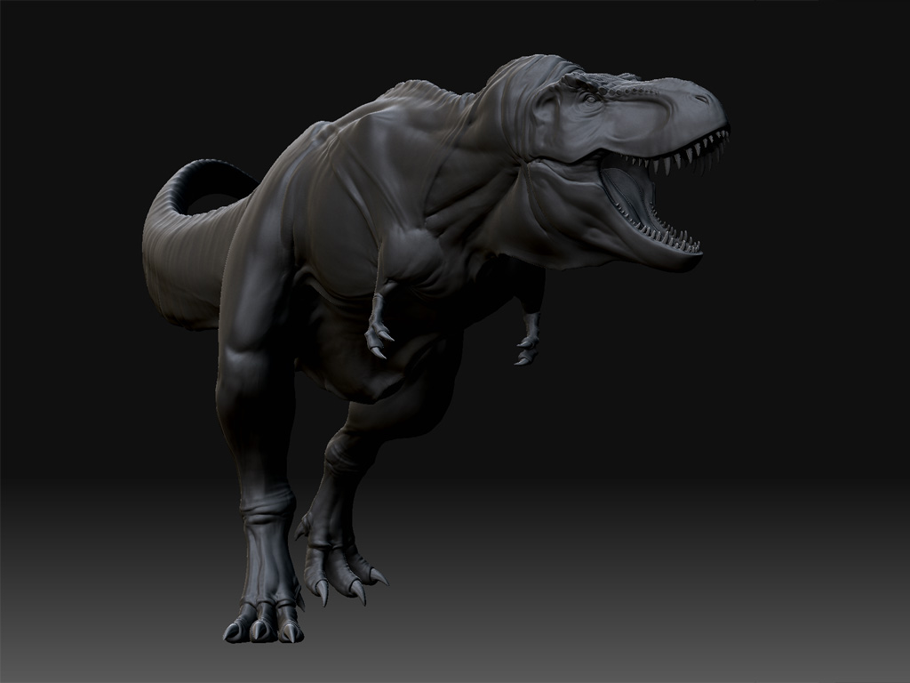 Another trex, wip