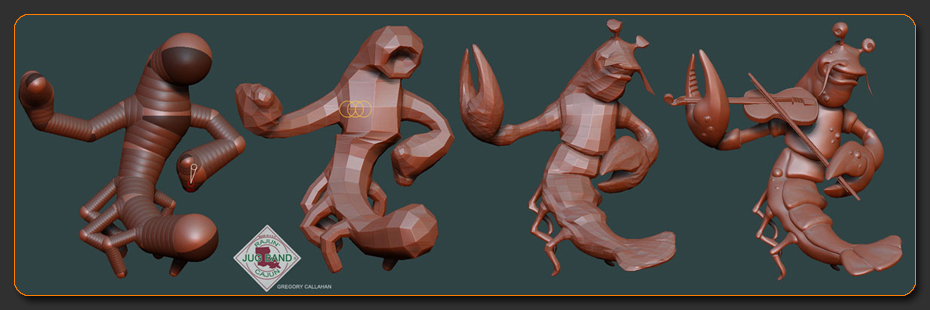 Crawfish WIP Steps