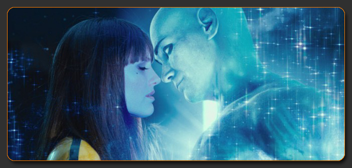 Dr. Manhattan and Laurie Kiss