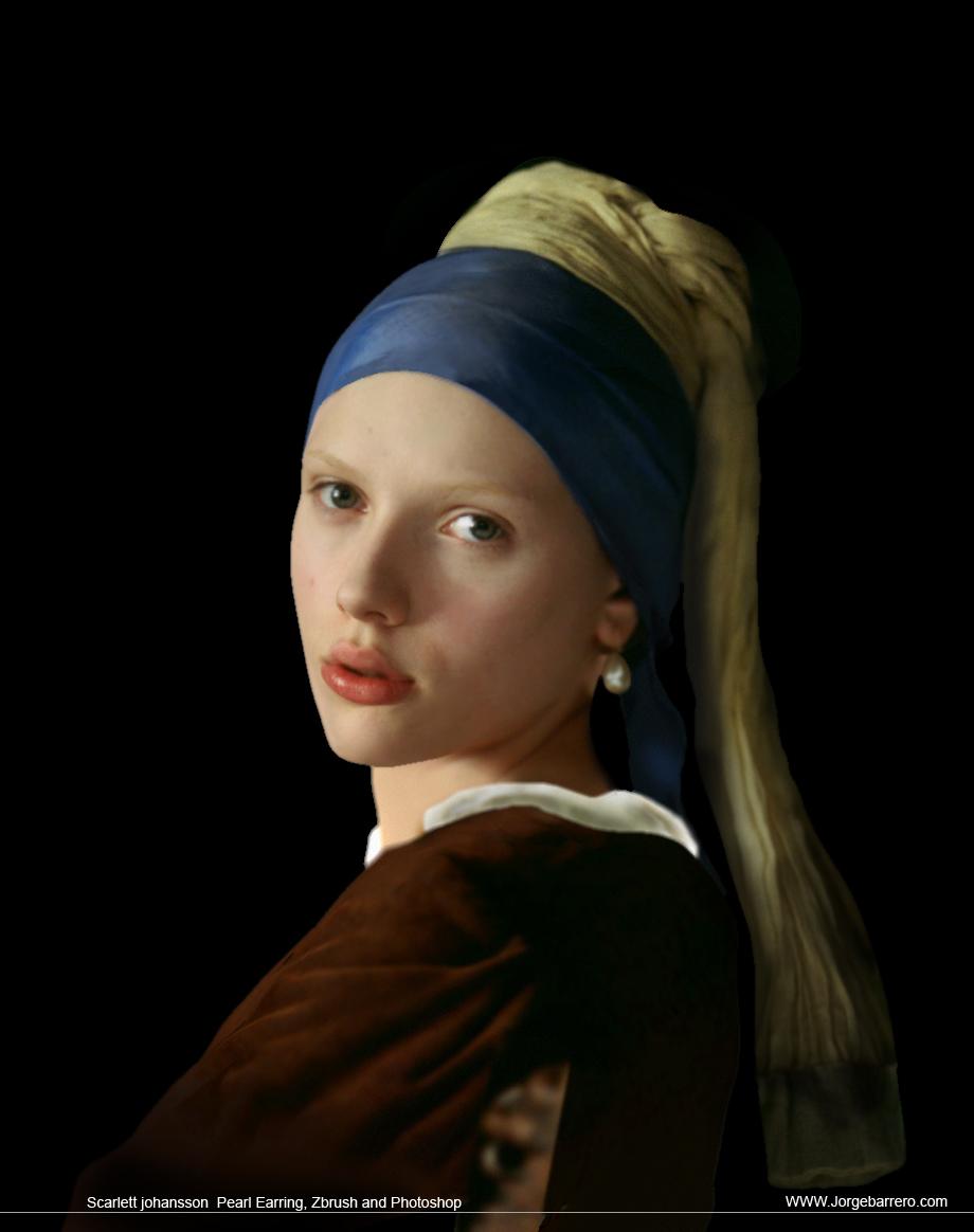 pearl earring scarlett johansson