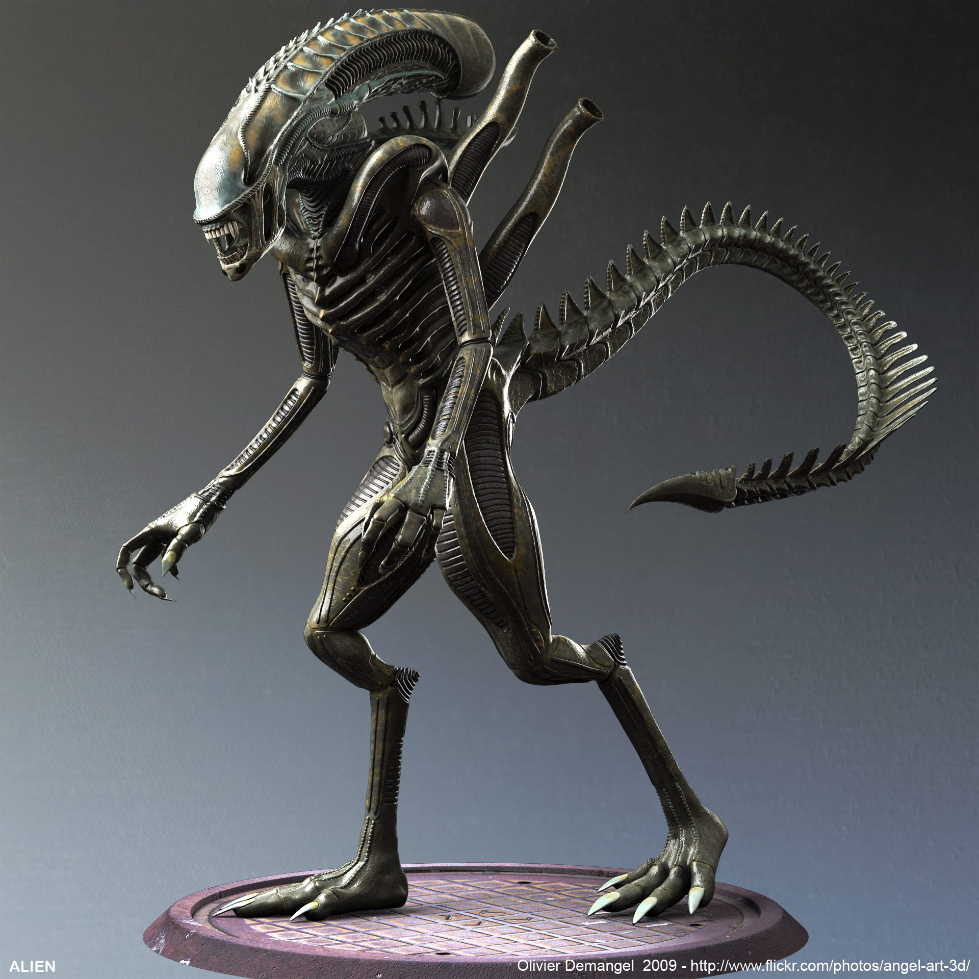 Giger Alien With Video
