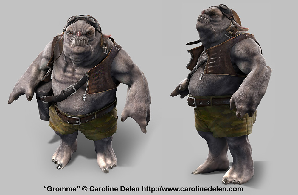 Creature: Gromme (Video Tutorial added page 2)