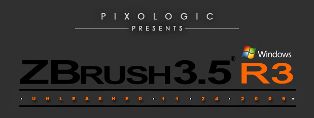 ZBrush 3.5 R3 for Windows Released.