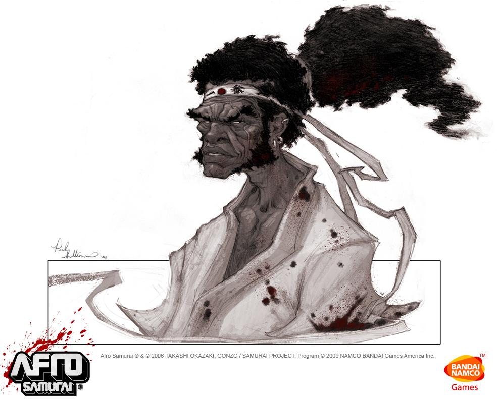 Thread: Afro Samurai Artwork