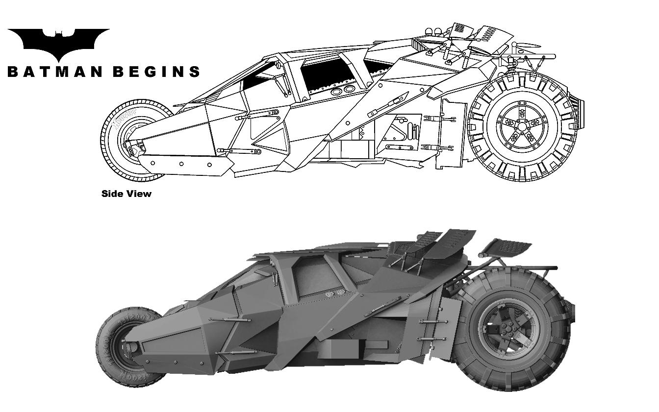 the batpod blueprints
