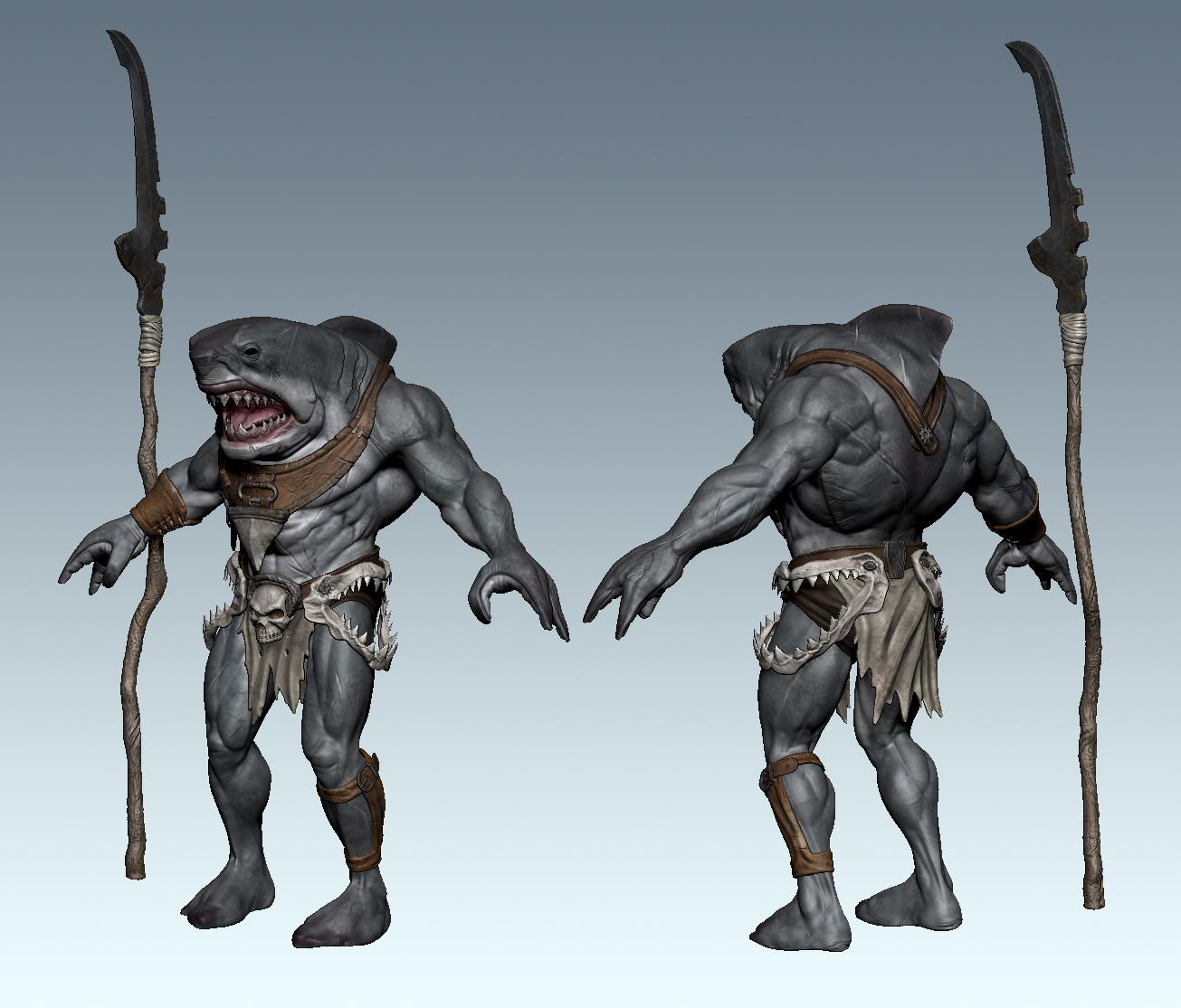 shark human hybrid