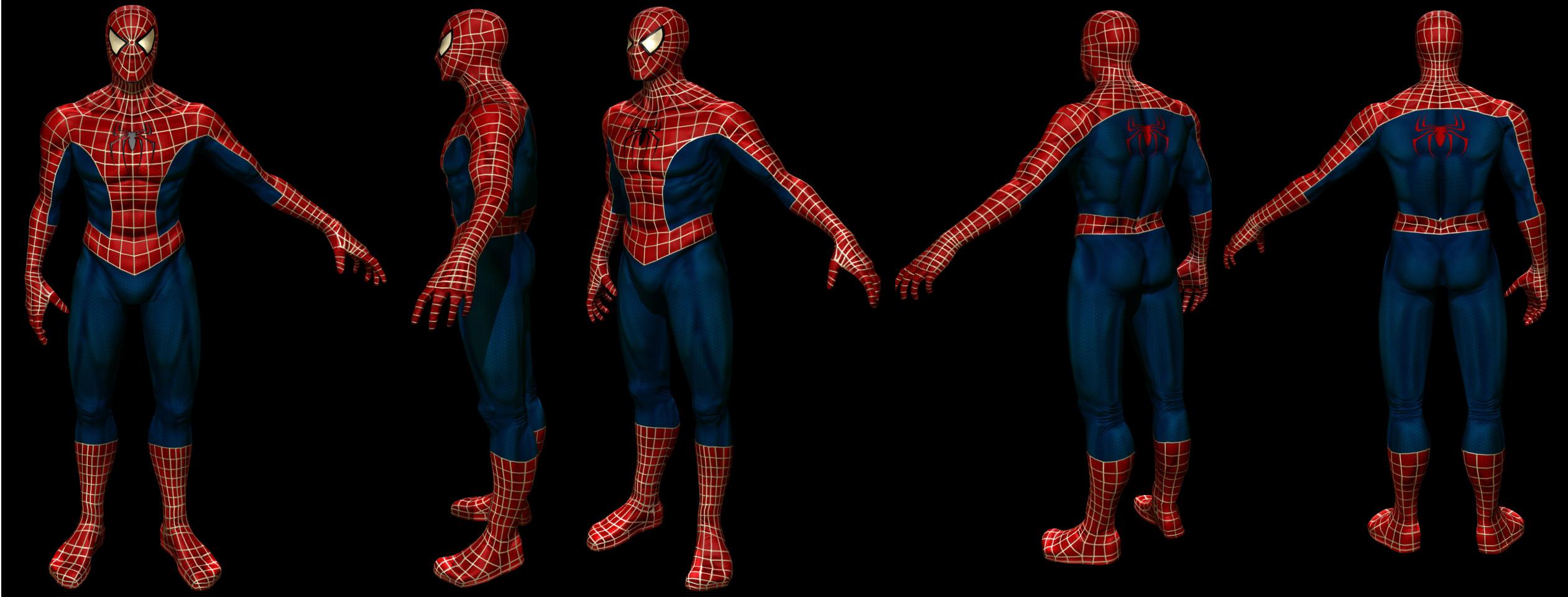 Как сделать мод человек паук