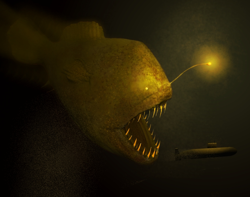 Dreamz sculpts for Angler fish toy