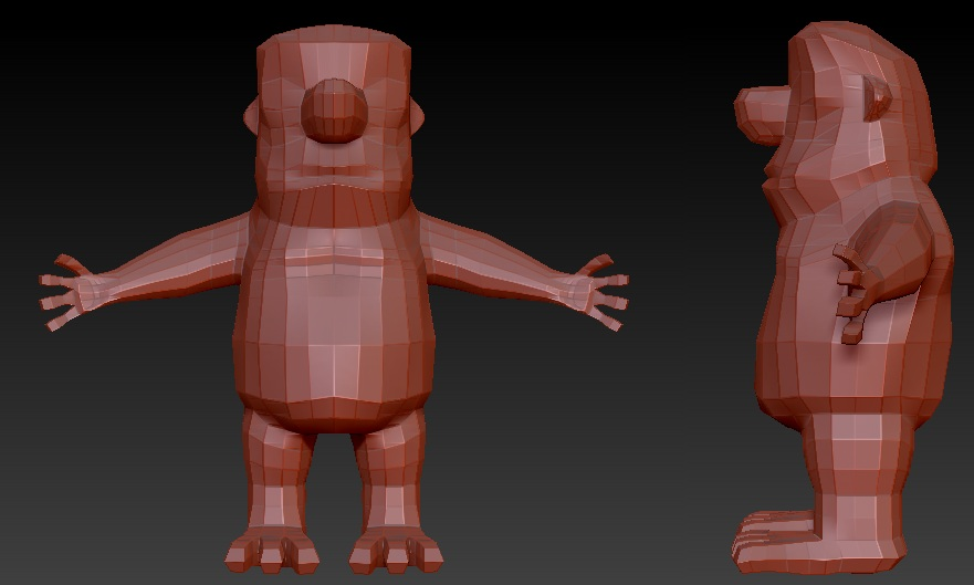 Fred Flintstone Low Poly.jpg
