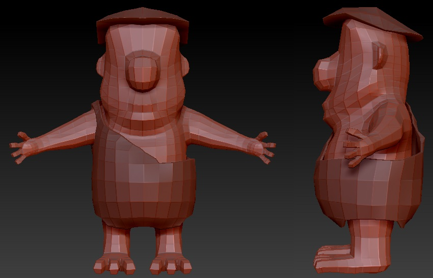 Fred Flintstone Low Poly Fin.jpg