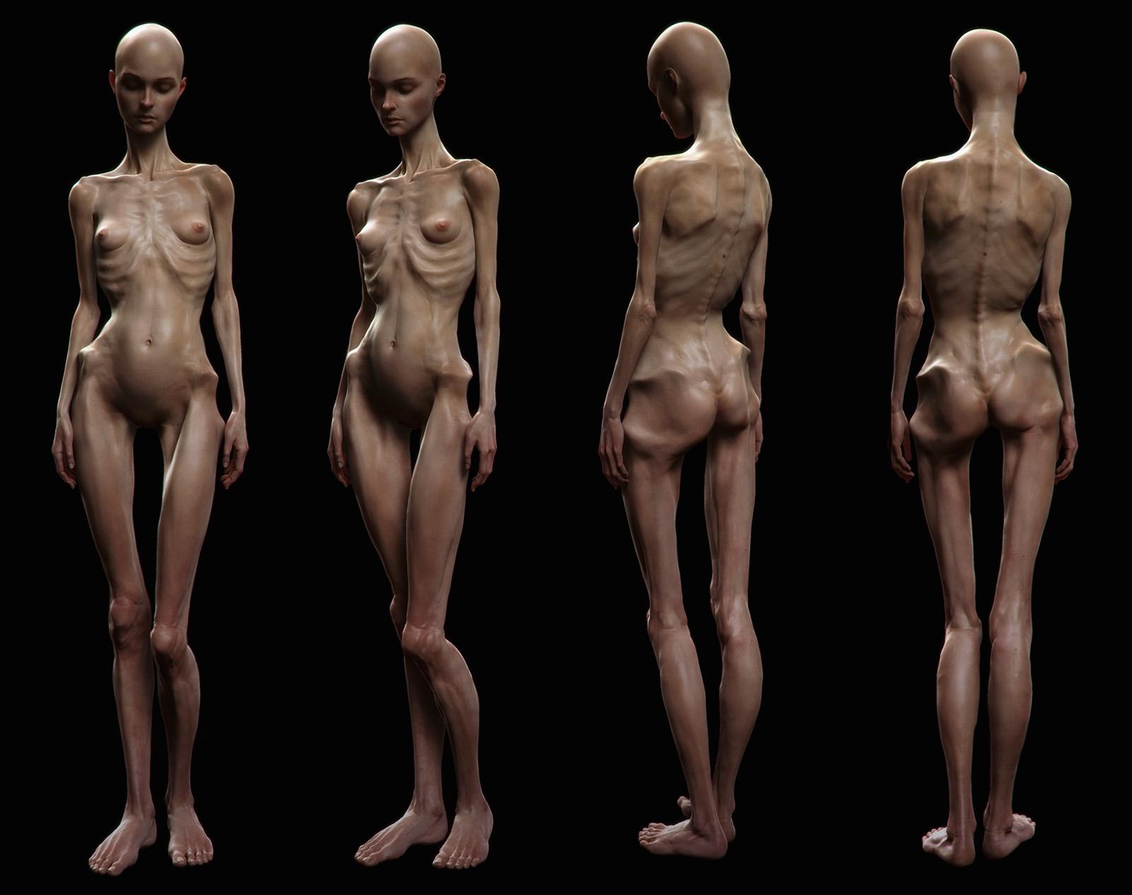 3d female model nude skins sexy scene