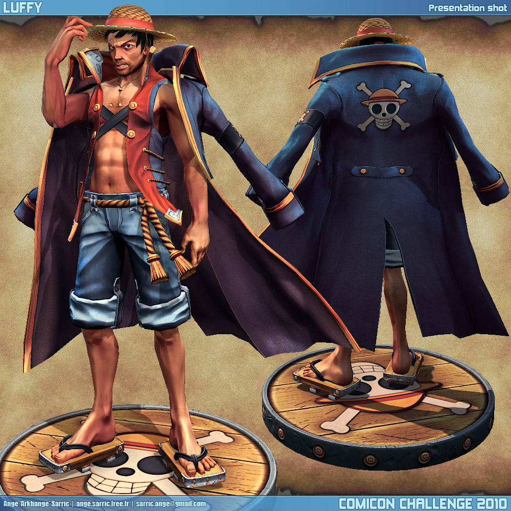 Challenge Body Comicon Challenge 2010 Arkhange Old Luffy
