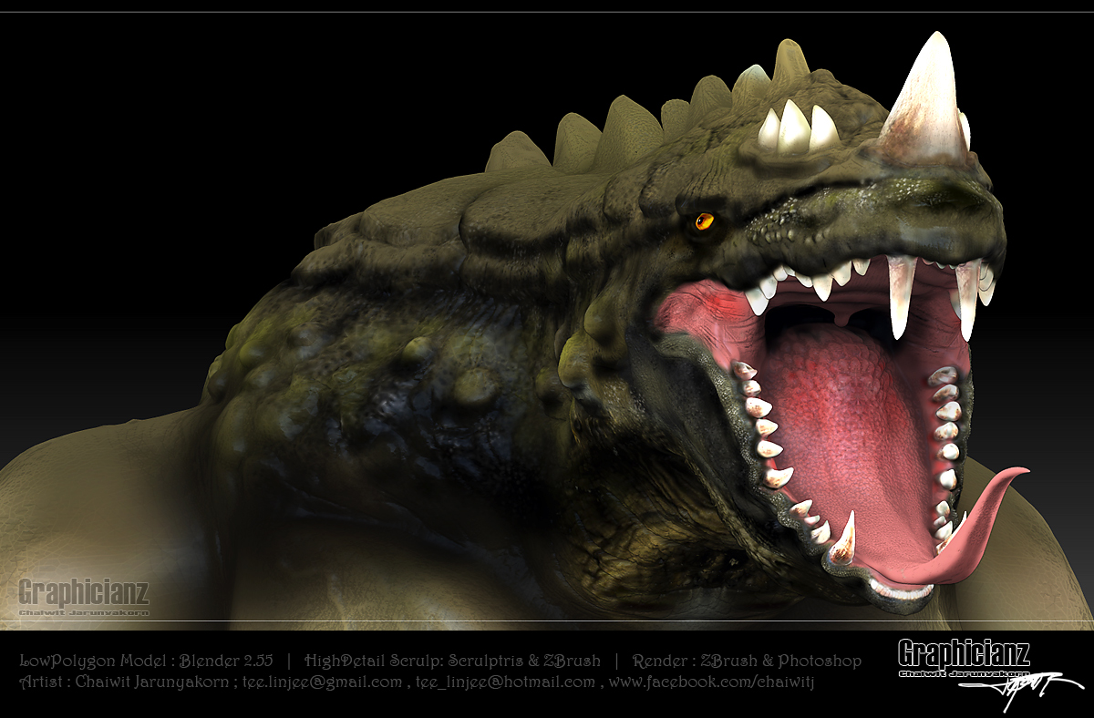 Monster Dragon