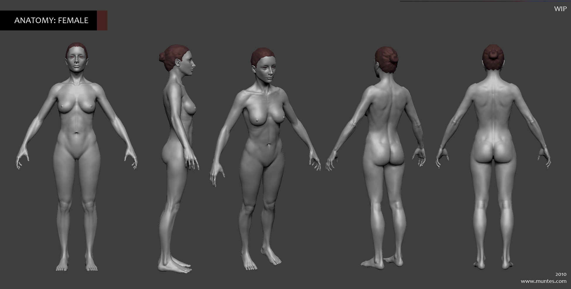 Nude anatomically male and female sims erotic pic