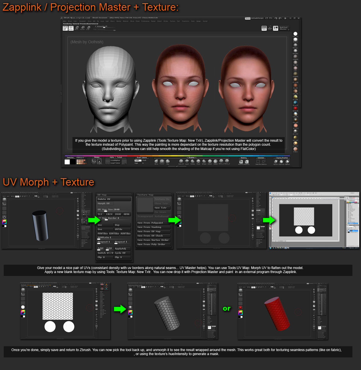 DID YOU KNOW THAT for ZBrush 4