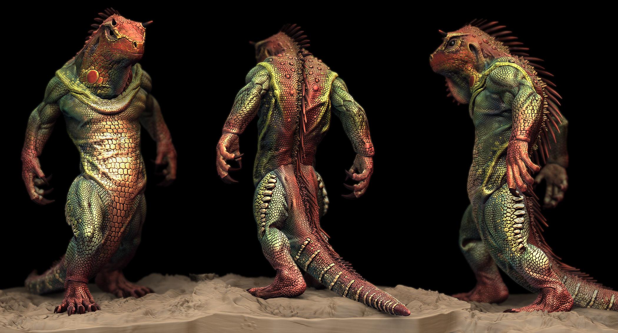 Z Man Lizard Michael Montes ...