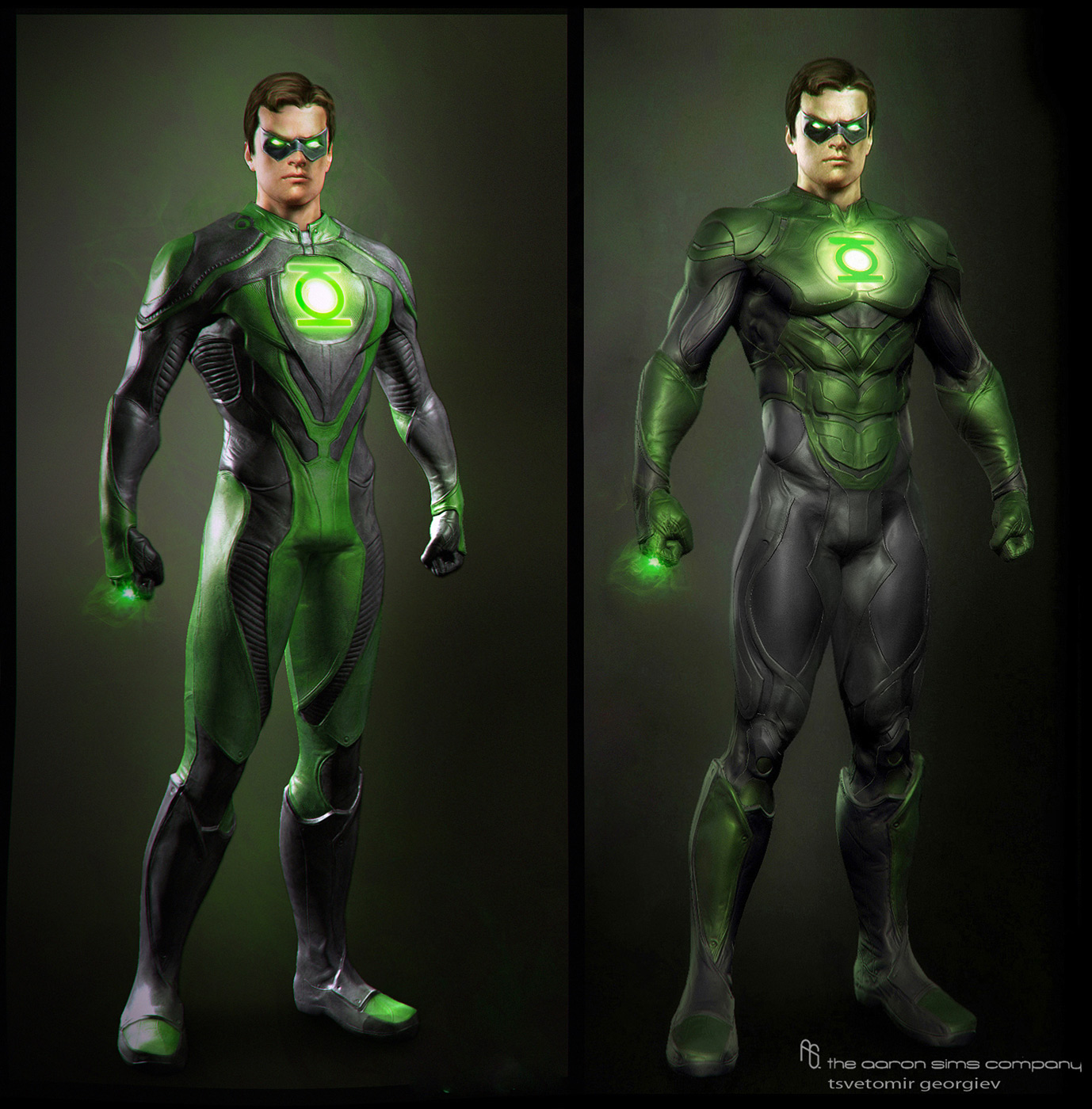 Cmivfx Zbrush Character Concept Design : Green lantern