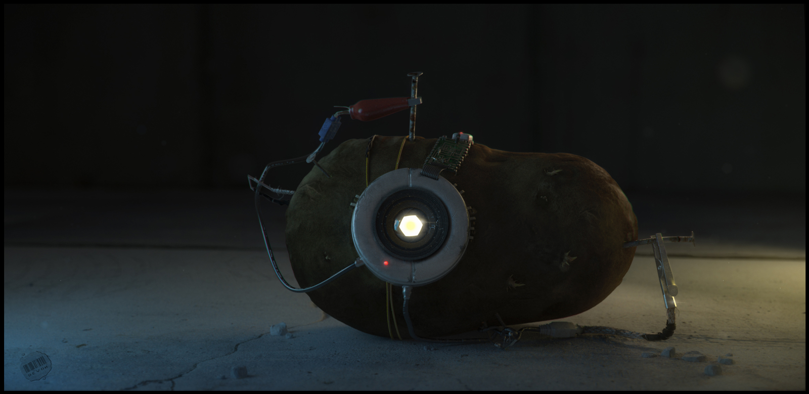 glados portal 2 potato - photo #6