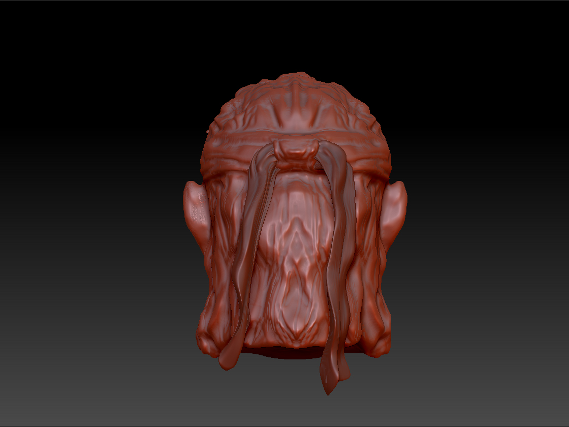 My first Zbrush Sculpture