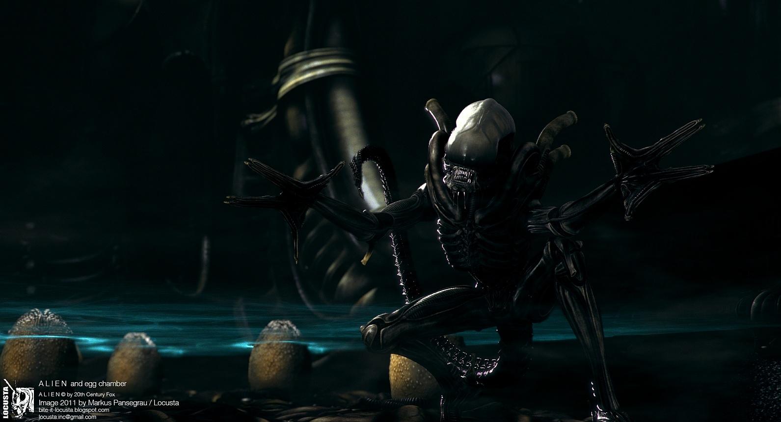Derelict Alien