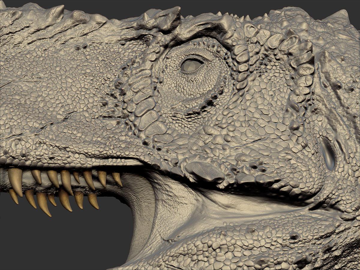 Texture Painting - Dinosaur Revolution