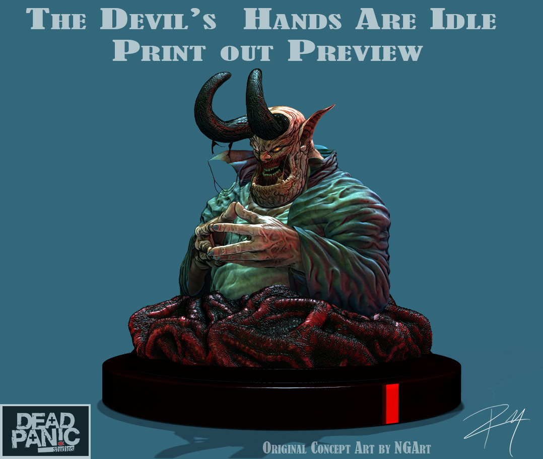 '' idle hands are the devil's