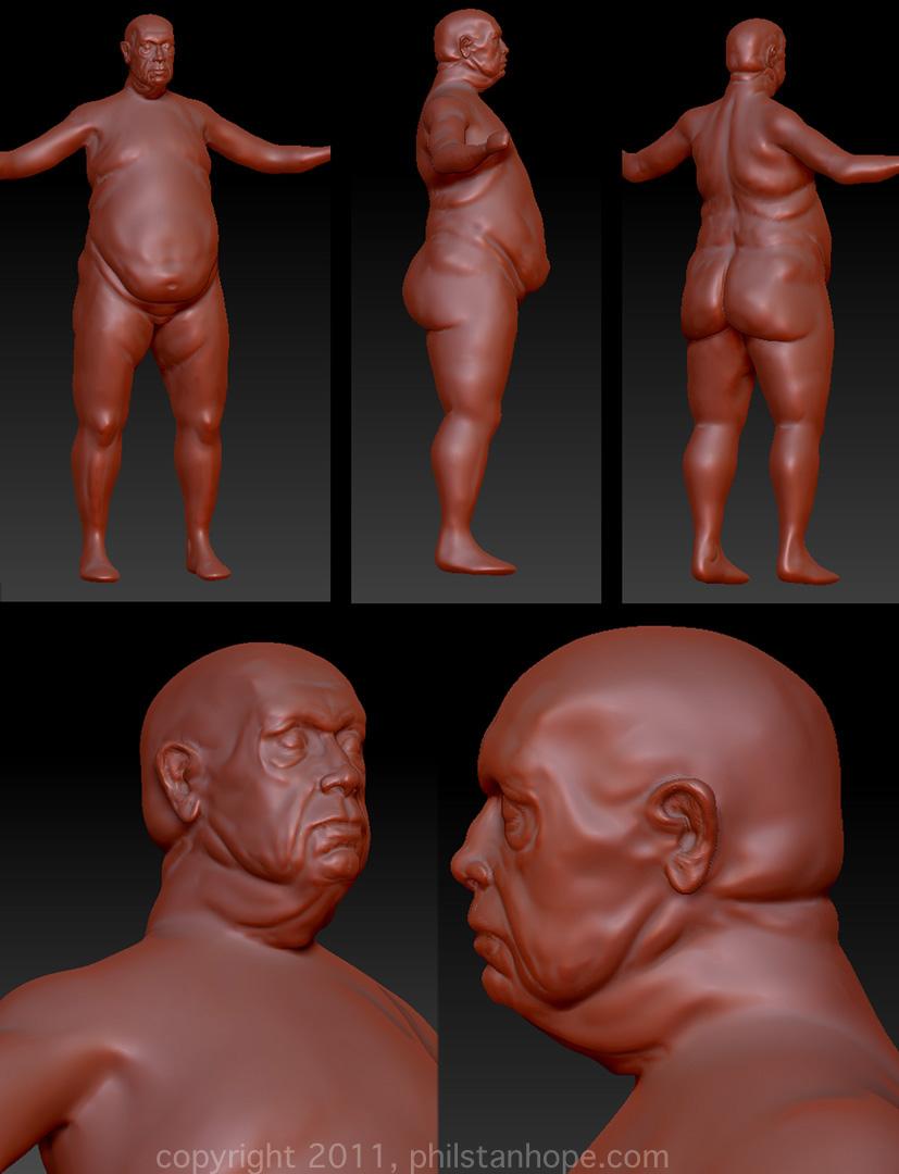 Fat Man WIP