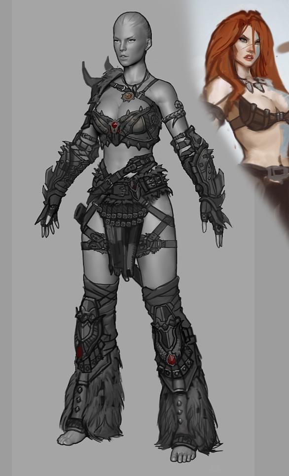 new female model wallpaper