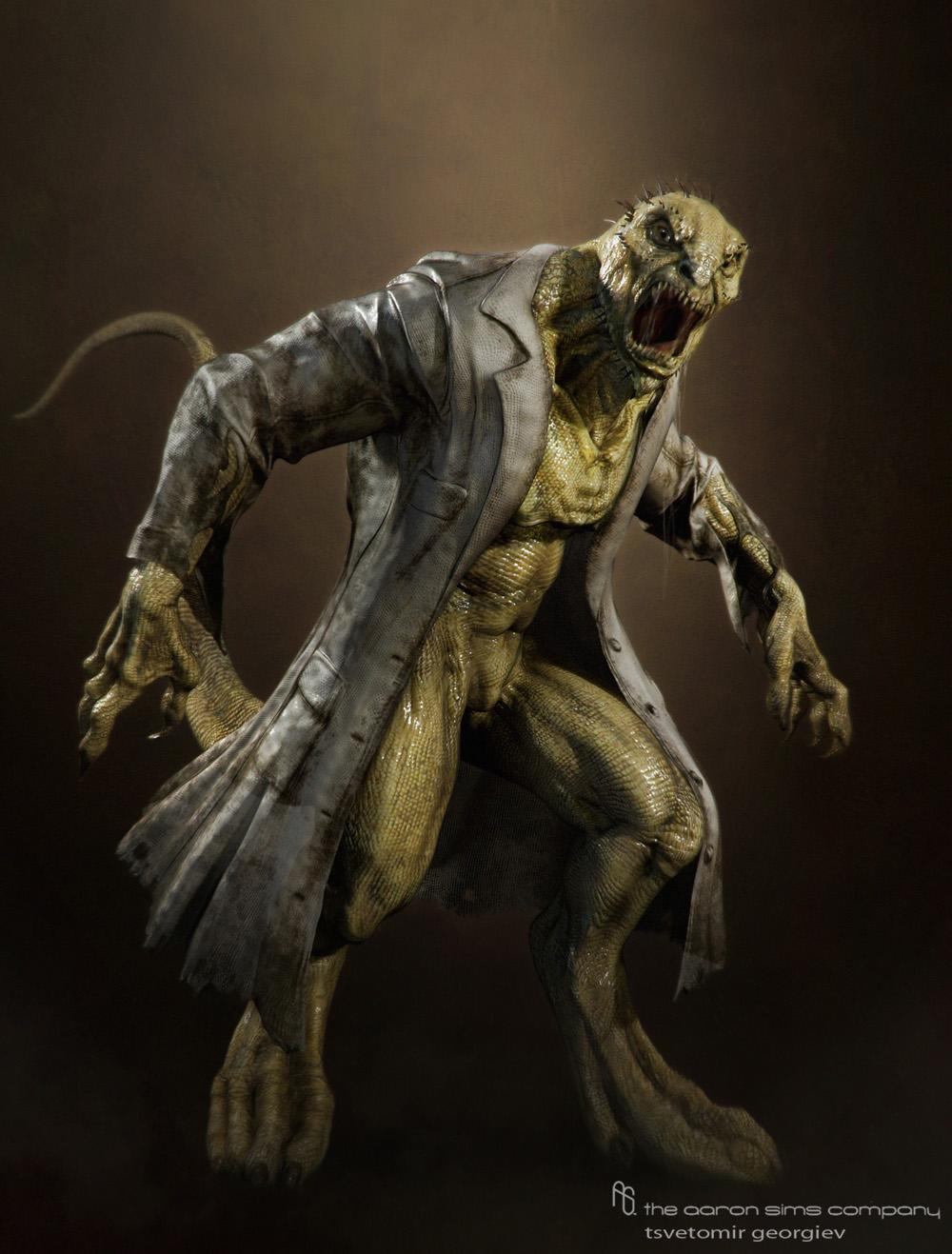 Z Man Lizard spiderman