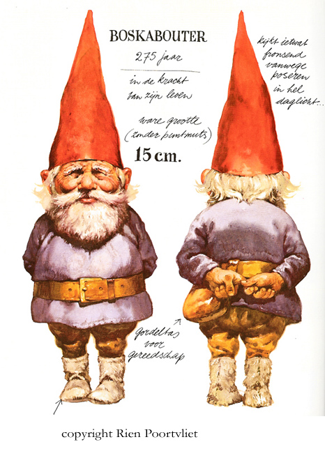 Lawn Gnome Drawing Books About Gnomes