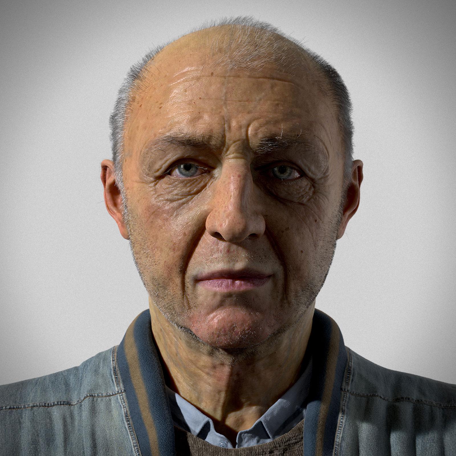 elderly man portrait - photo #8