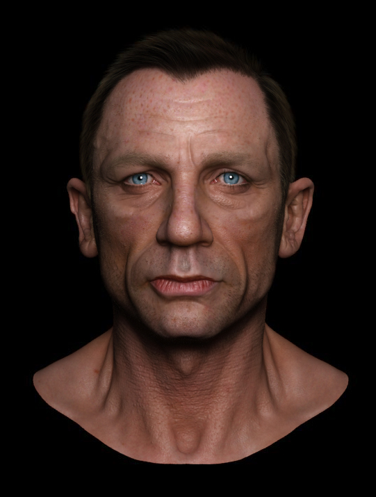 Miraculous Daniel Craig 3D Wip And Breakdowns By Hossein Diba Zbrushtuts Hairstyle Inspiration Daily Dogsangcom