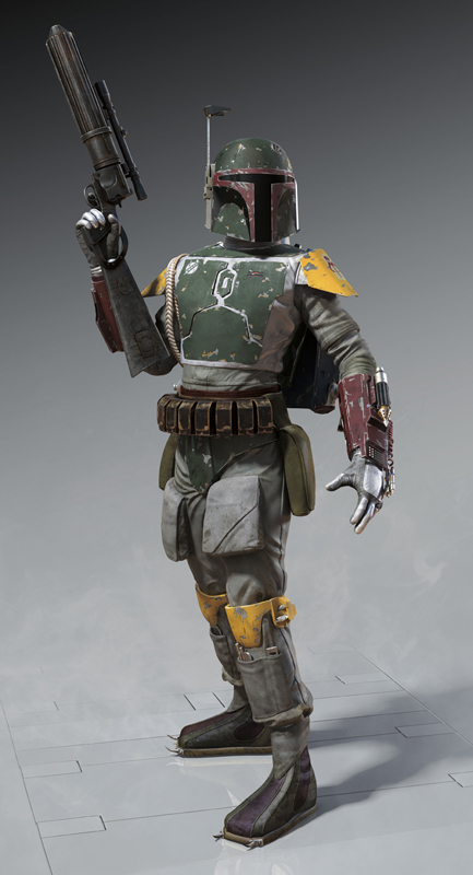 Boba Fett's Escape from the Sarlacc pit