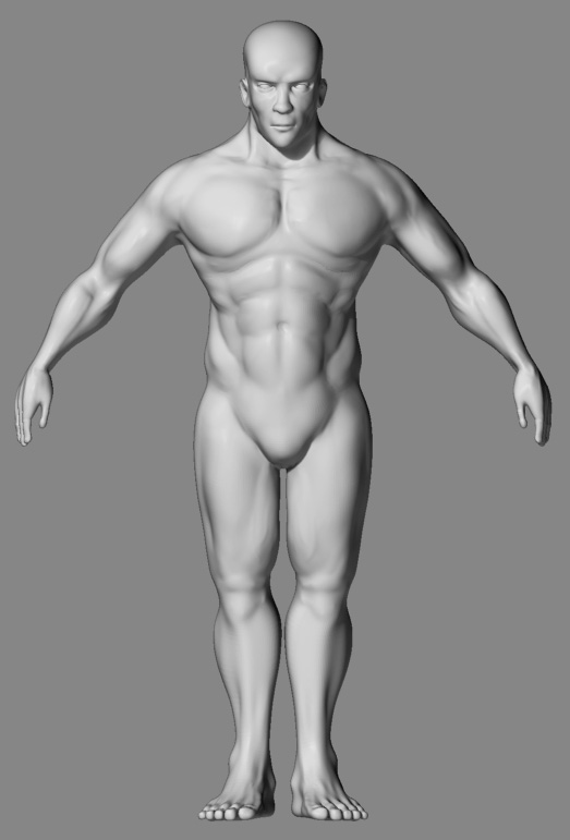 another male body