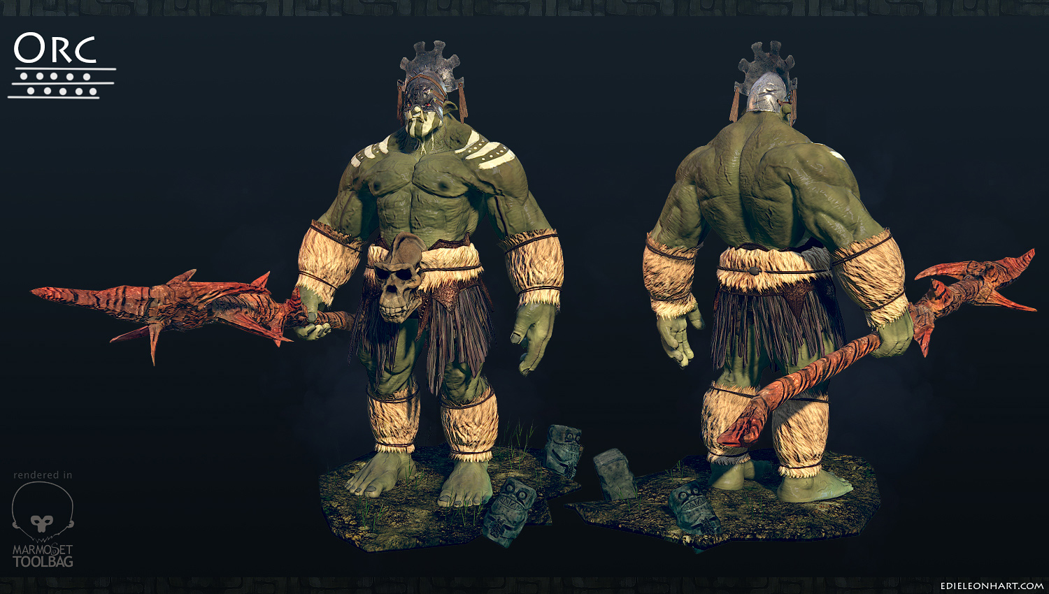 3d orcs naked clip