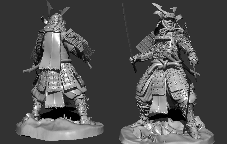 samurai 3d artist tutorial