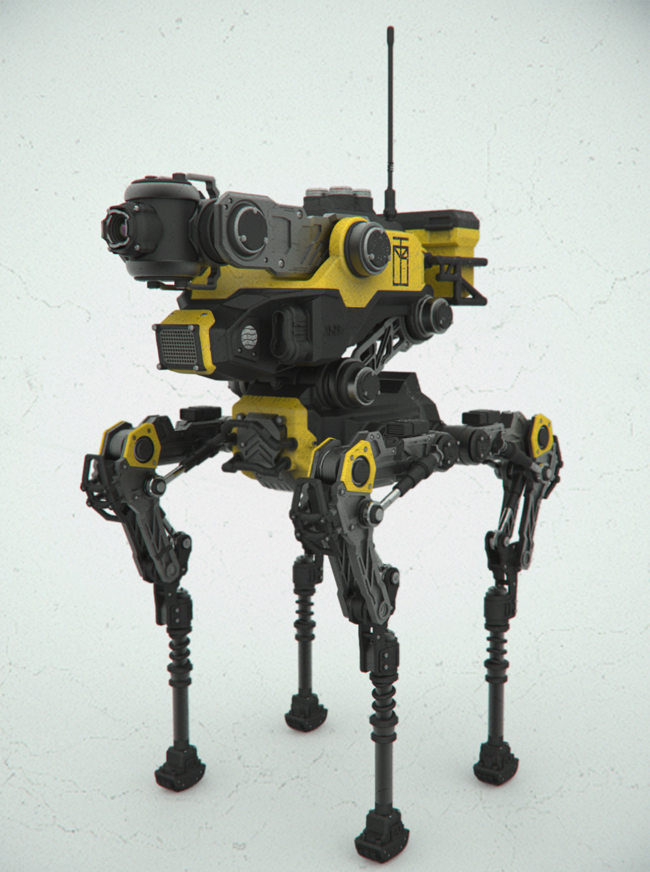 Zbrush Hardsurface Techniques [video tutorial page 1]