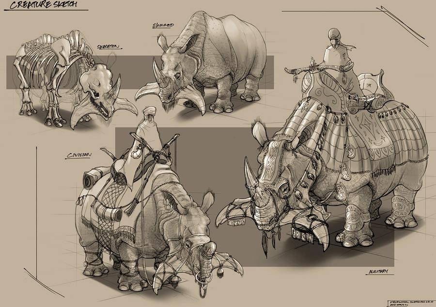 Feng Zhu Sketches