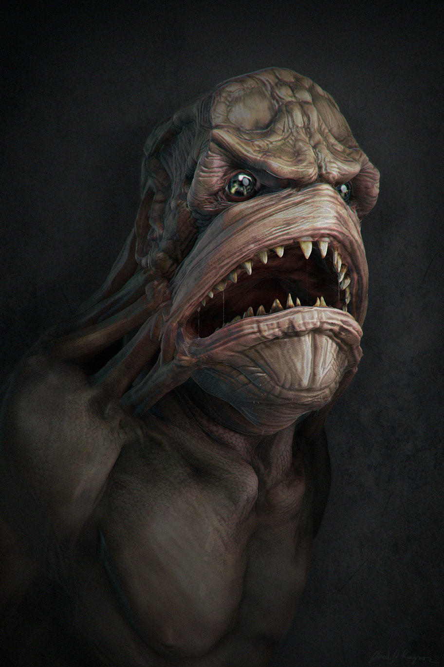 The Shadow Over Innsmouth Fish People