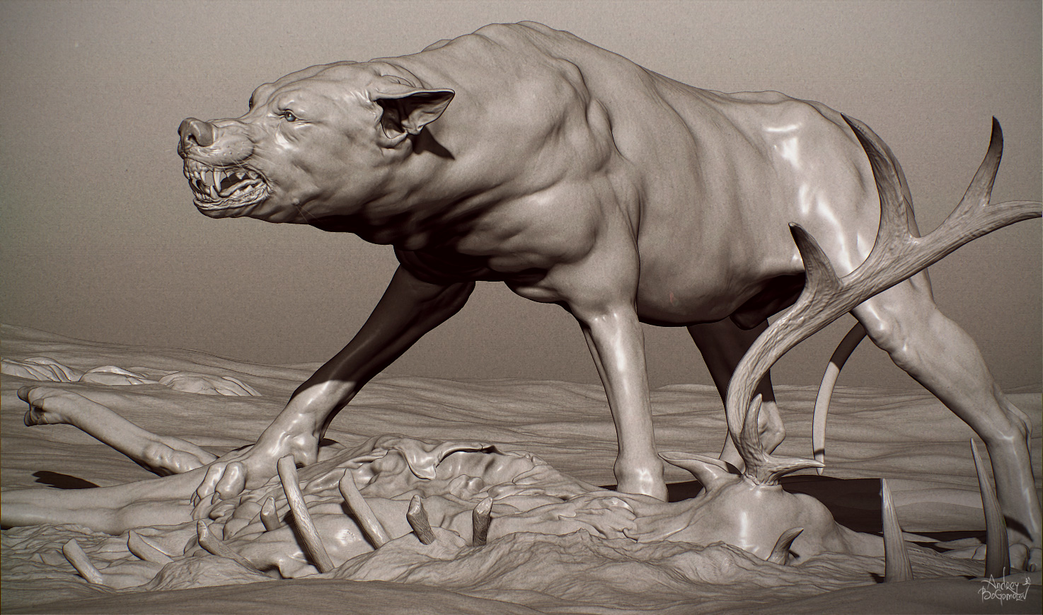 Andrey bogomolov page 4 for Mirror zbrush