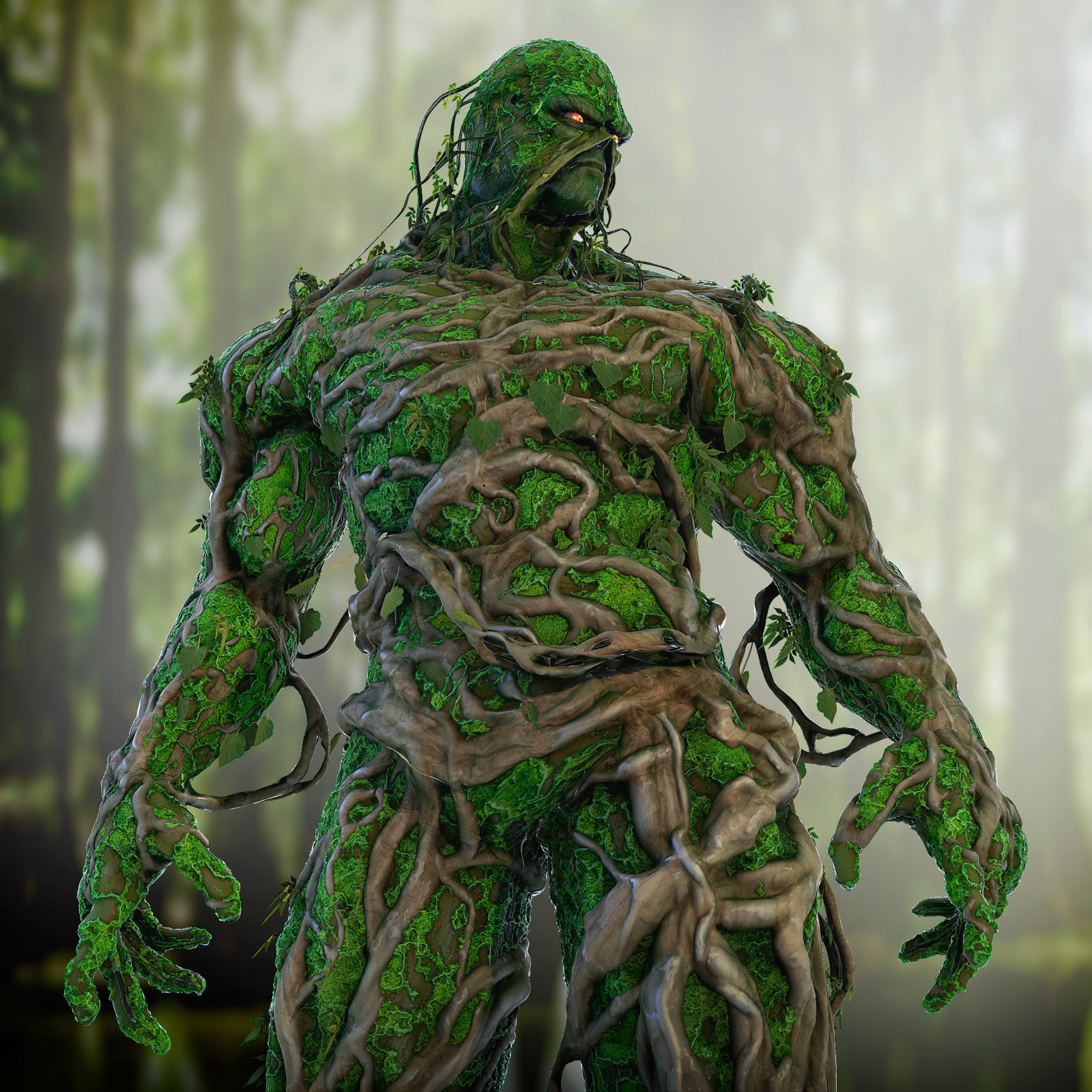 Swamp Thing Comicon 2014