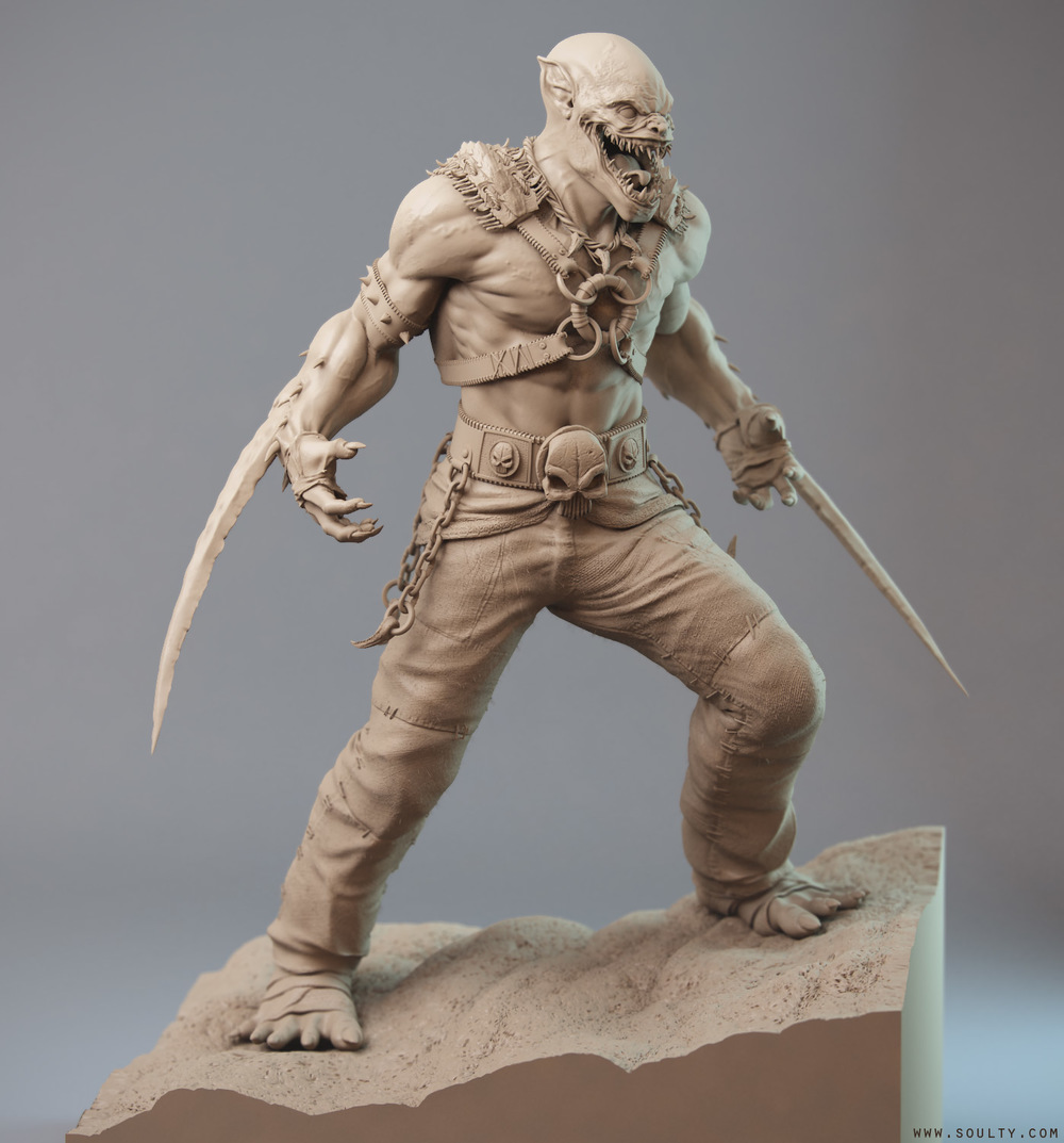 Image result for clay character models