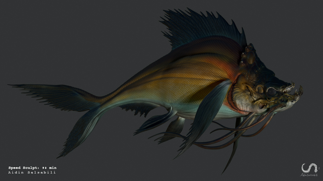 Useful techniques for creating monster fish faster for Monster fish show
