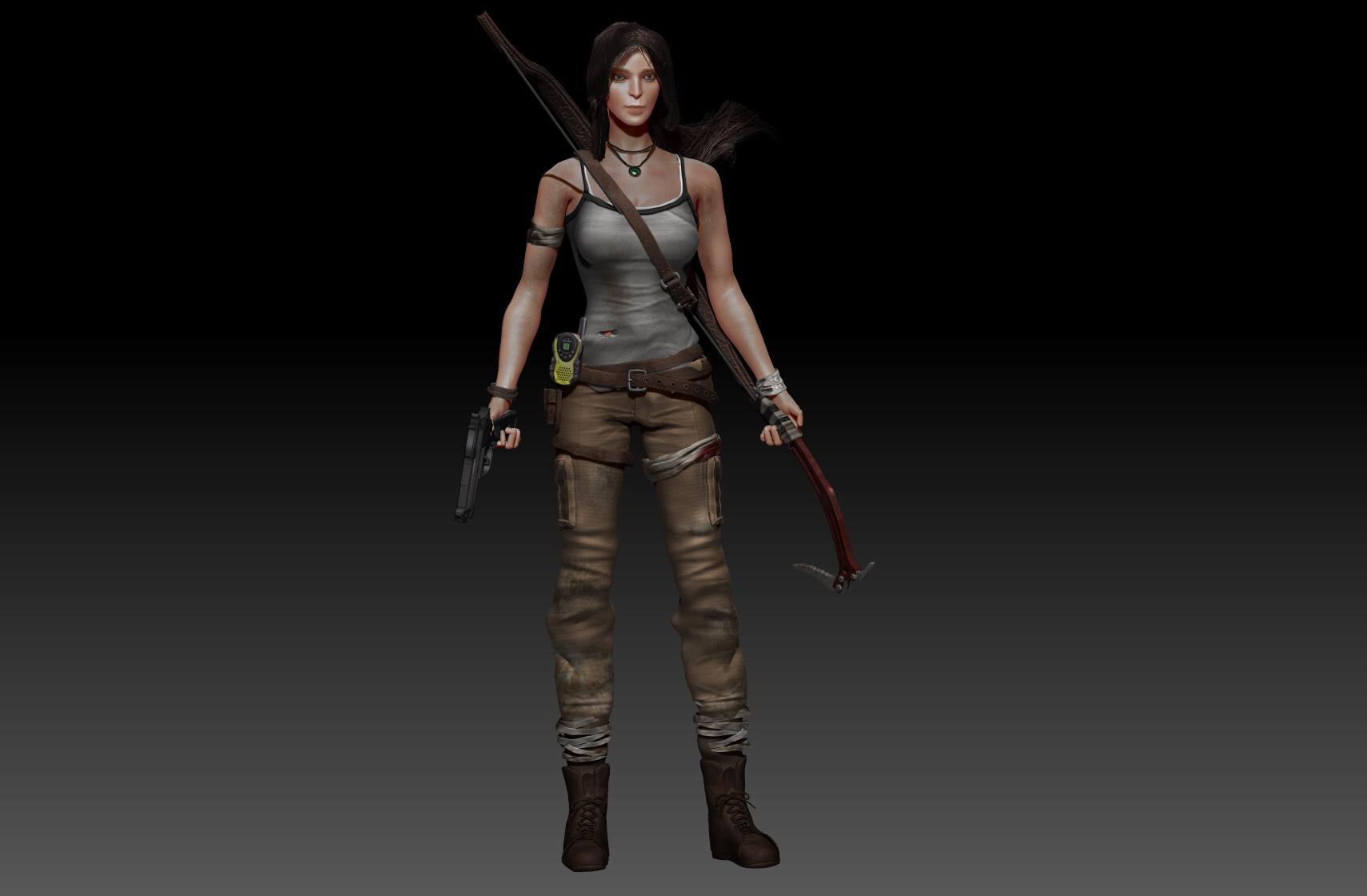 Tomb Raider 2013 Version Wip