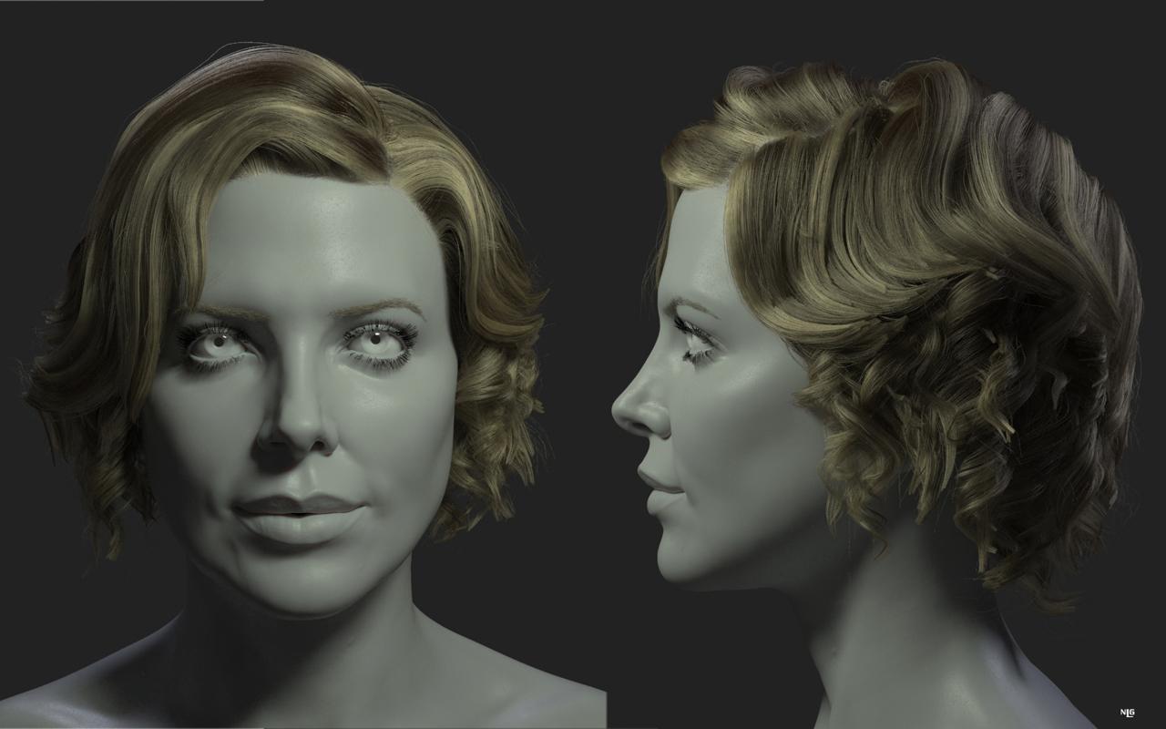Fibermesh Tutorial Ringlet And Curly Hair
