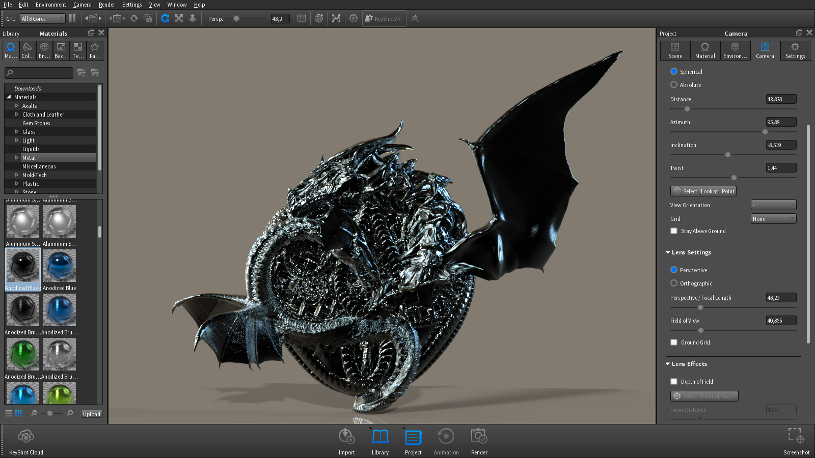 zbrush 4r7 keyshot vs cycles blender is awesome