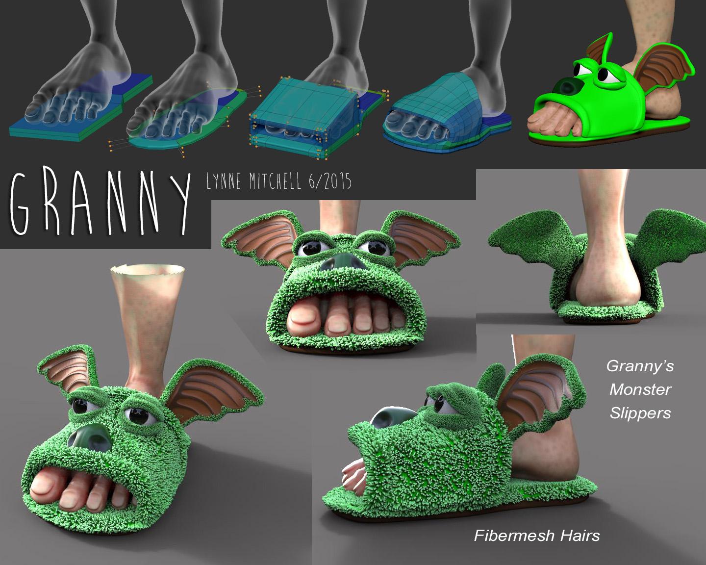 Monster granny anime gallery