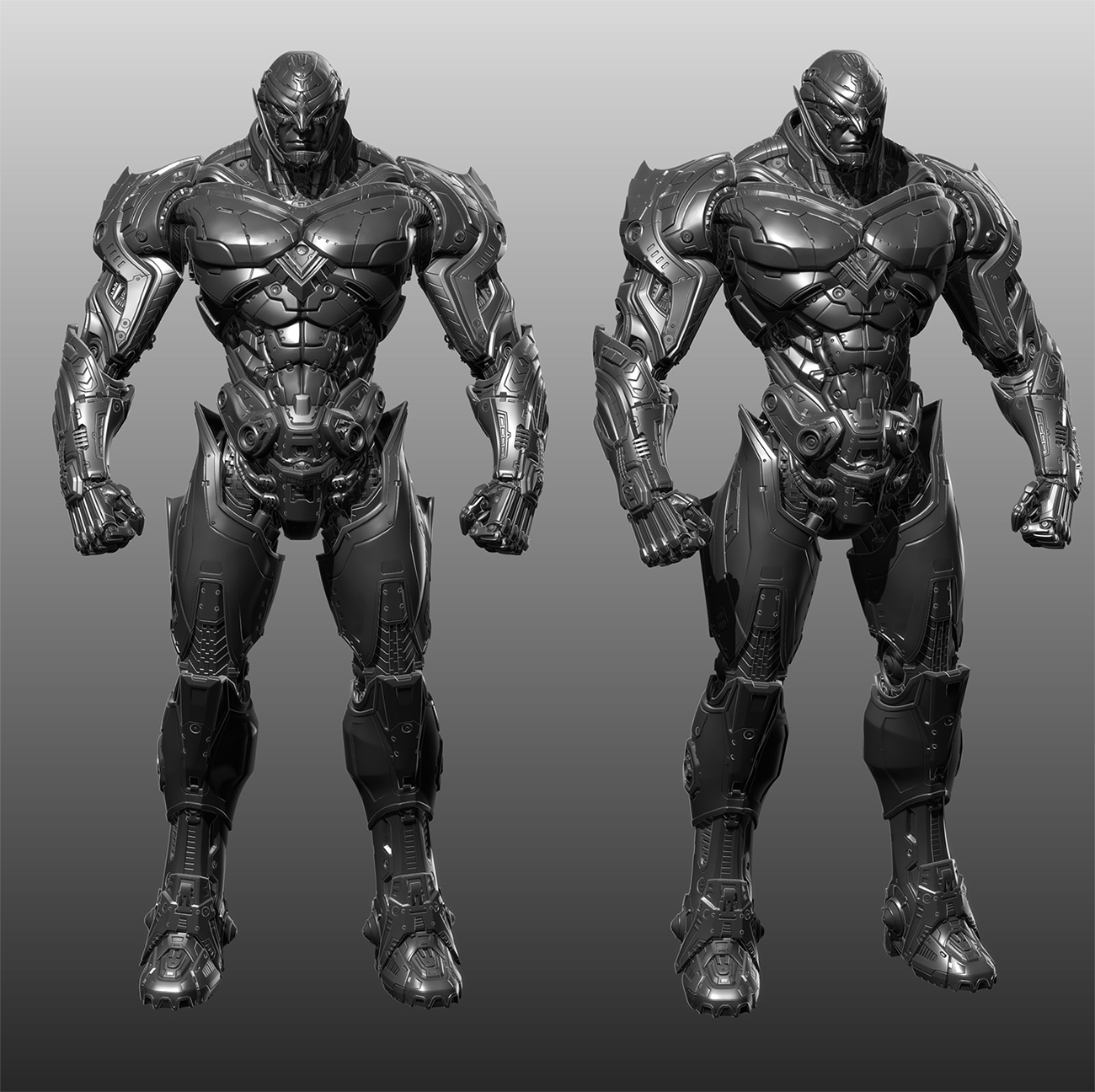 Brushes For Character Design : Character design and modeling hard surface