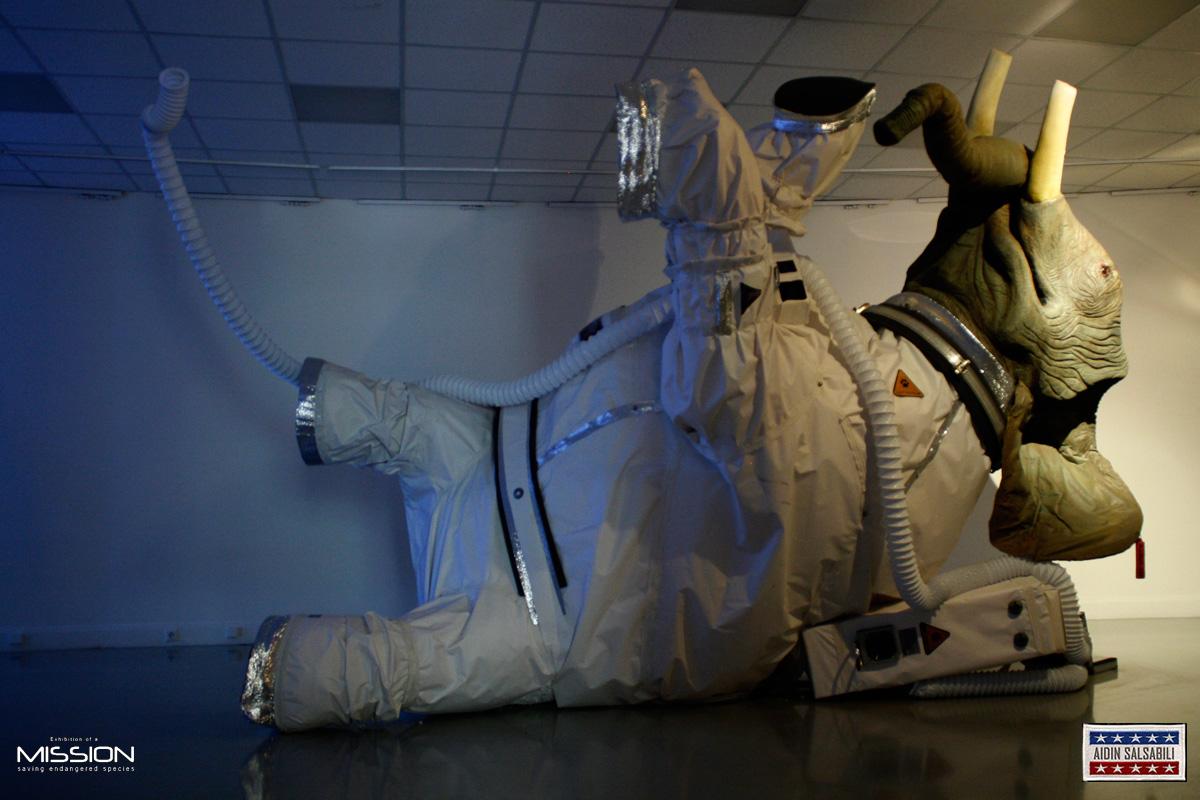 elephant astronaut - photo #3